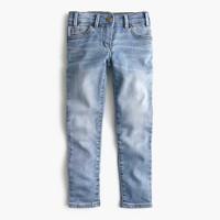 Girls' runaround jean in patchwork wash