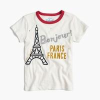 Girls' Eiffel Tower T-shirt