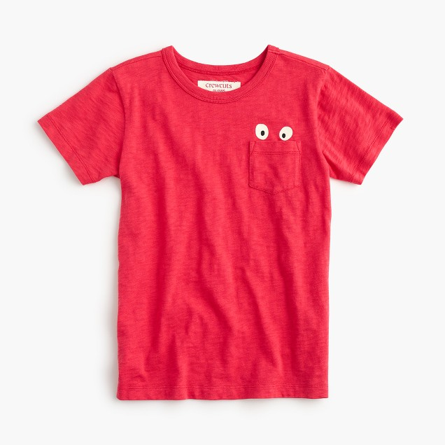 Boys' glow-in-the-dark Max the Monster pocket T-shirt