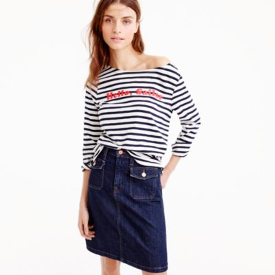 """Limited-edition National Stripes Day T-shirt in """"Hello, Sailor"""""""