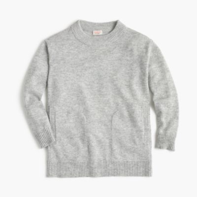 Girls' cashmere tunic