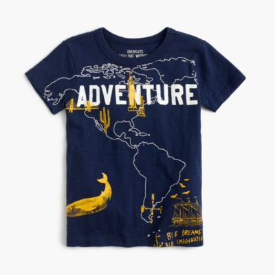 Boys' world adventure T-shirt