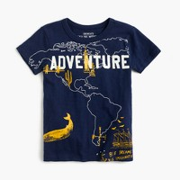 Boys' world adventure T-shirt