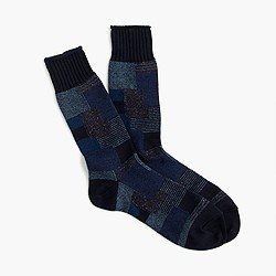 Anonymous Ism™ patchwork socks
