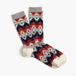 Anonymous Ism™ jacquard crew socks