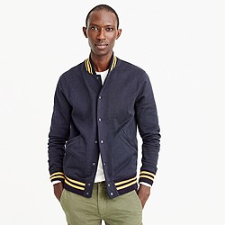 Wallace & Barnes cotton varsity jacket