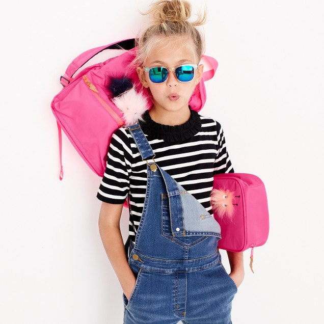 Kids' backpack with monsters