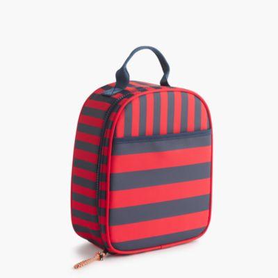 Kids' striped lunch box