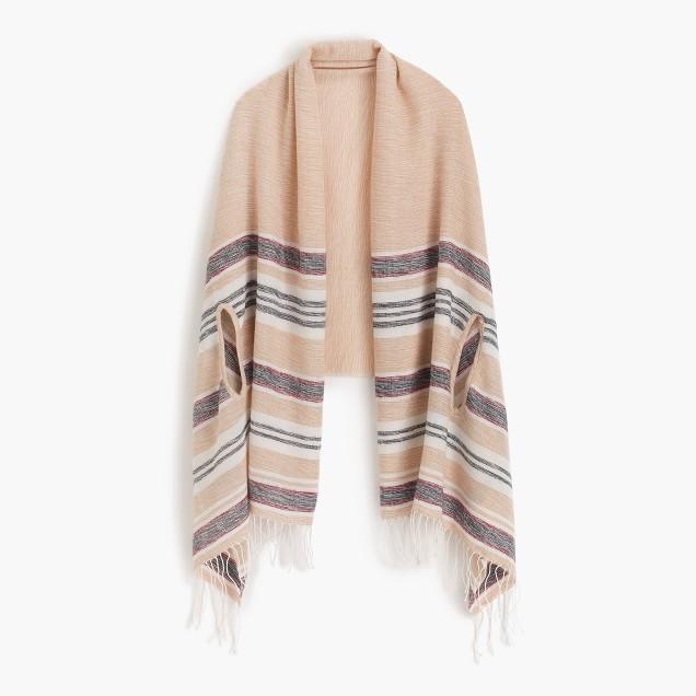 Summerweight cape-scarf
