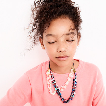 Girls' star necklace