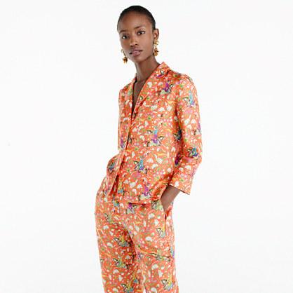 Collection Drake's for J.Crew pajama top