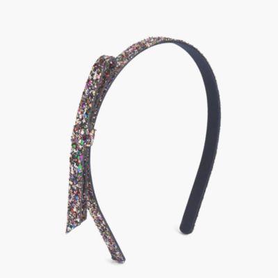 Girls' glitter headband