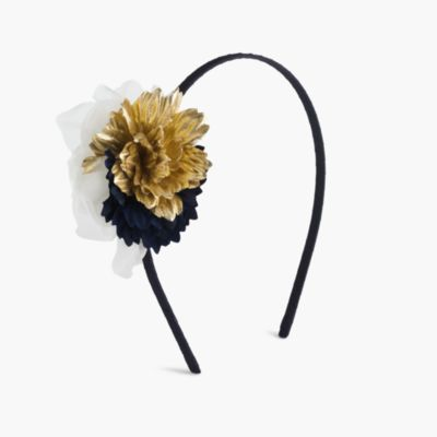 Girls' flower fringe headband