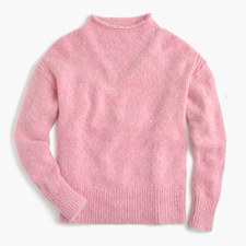 Pre-order The 1988 Italian cashmere rollneck™ sweater - MARLED PINK