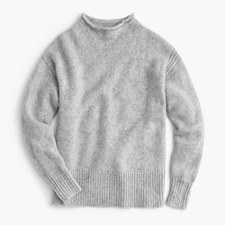 Pre-order The 1988 Italian cashmere rollneck™ sweater - MARLED MIST