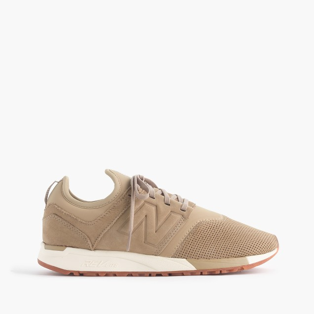 New Balance® 247 Luxe sneakers in nubuck leather