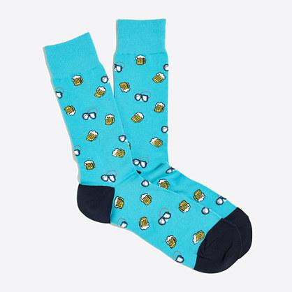 Beer goggles socks