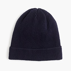 Wallace & Barnes thermal cotton beanie