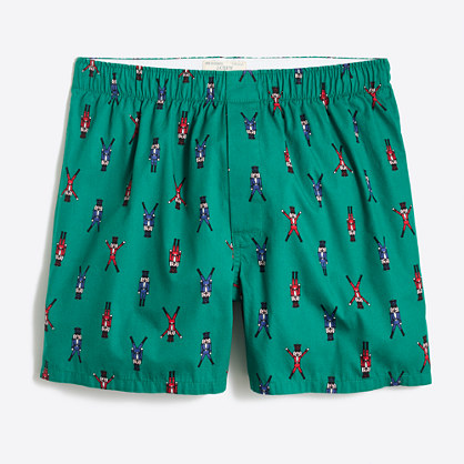 Dancing nutcracker boxers