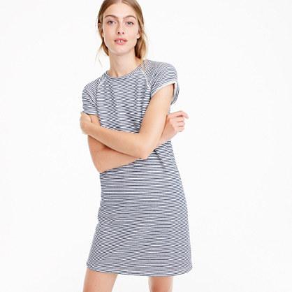 Striped cozy beach dress