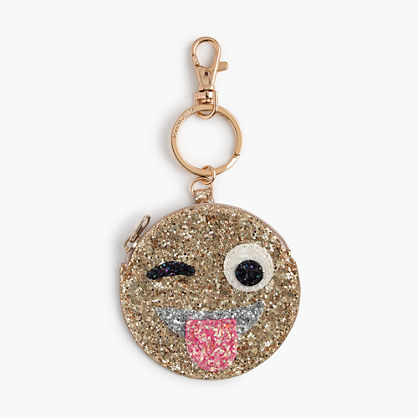Kids' glitter coin purse
