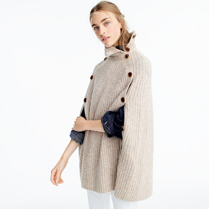 Convertible sweater cape